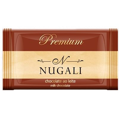 Mini Tablete Chocolate ao Leite - Nugali 5g