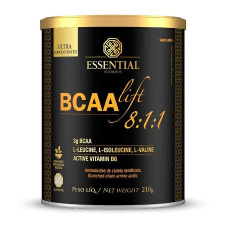 BCAA Lift Essential Nutrition - Lata 210g
