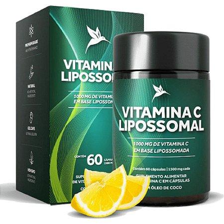 Vitamina C Lipossomal - Pura Vida 60 cápsulas