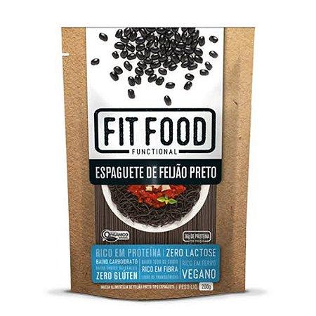 Espaguete de Feijao Preto e Soja Orgânico - Fit Food