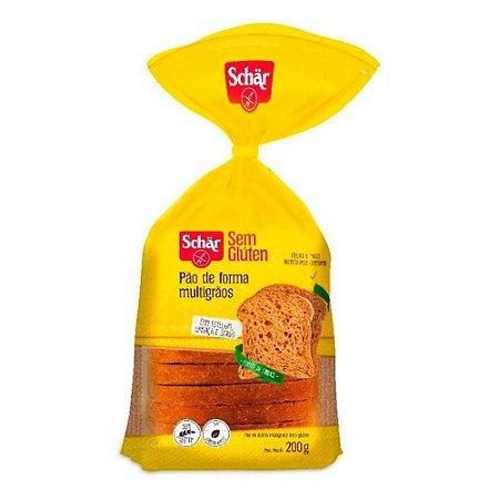 Pão de Forma Multigrãos - Schär