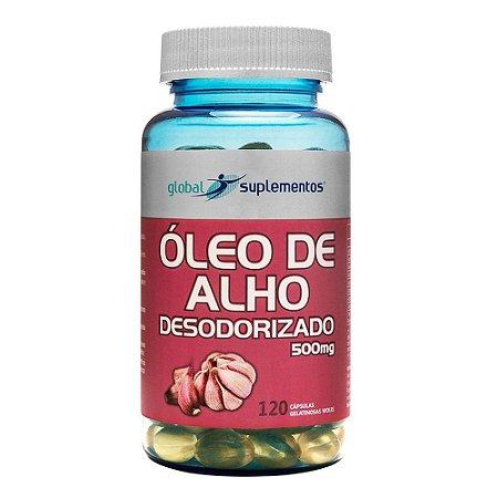 Óleo de alho desodorizado – Global Suplementos