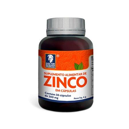 Suplemento Alimentar de Zinco - Doctor Berger