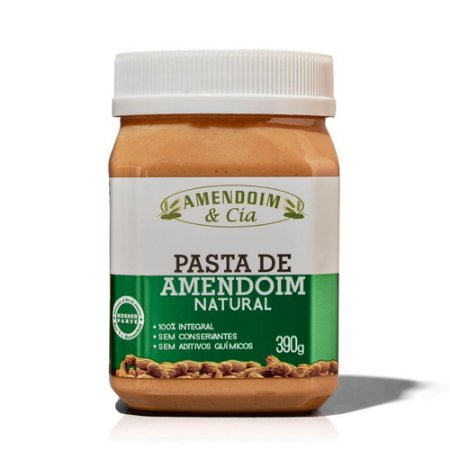 Pasta de Amendoim Natural – Amendoim & Cia