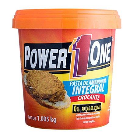 Pasta de Amendoim Integral Crocante – Power1One