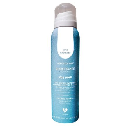 Desodorante Aerossol Max for Man - Biozenthi