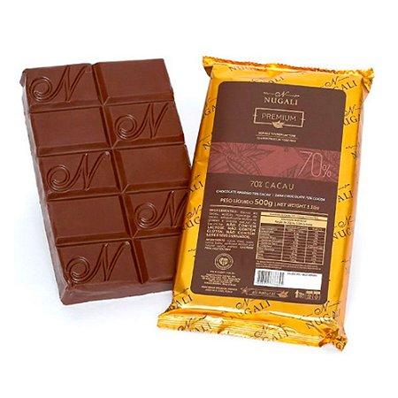 Chocolate Amargo 70% Cacau - Nugali