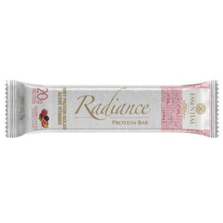 Radiance Protein Bar Berries + White Chocolate - Essential Nutrition