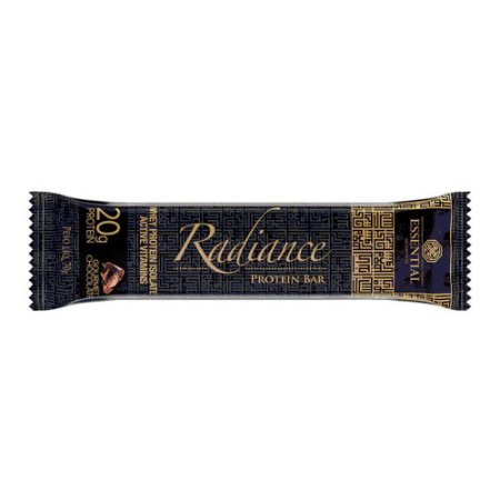 Radiance Protein Bar Gourmet Chocolate - Essential Nutrition
