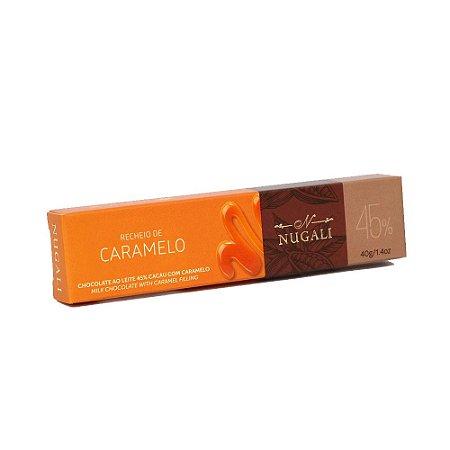 Tablete 45% Cacau Caramelo - Nugali