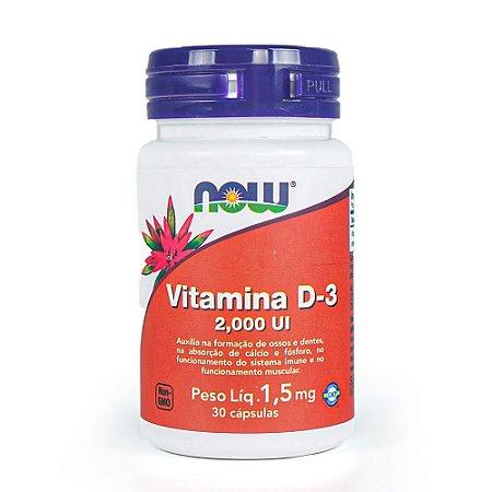 Vitamina D-3 - Now Foods