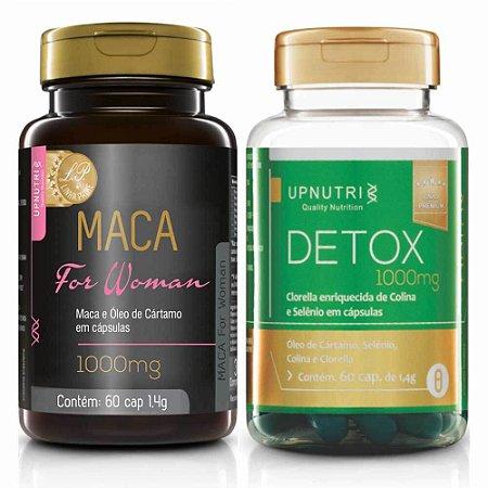 Kit Imunidade Detox + Maca Peruana para Elas