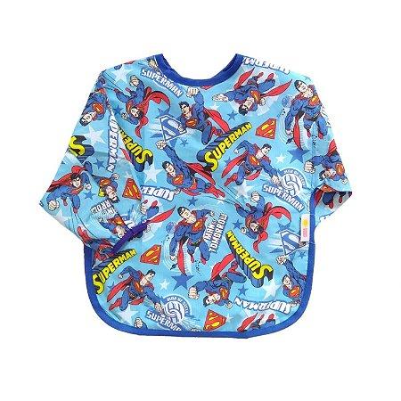Babador BLW em Tecido com Elástico - SUPERMAN