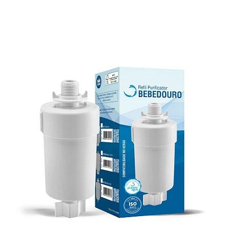 Refil filtro Bebedouro 1012 Planeta Agua Rosca 1/2 encaixe 1/4