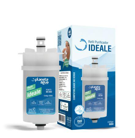 Refil Filtro Ideale Para Purificador Ideale e Ideale Premium Durín H2O