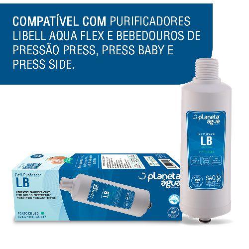 Refil lb compatível com Purificadores LIBELL AcquaFlex, Press, Press Baby e Press Side