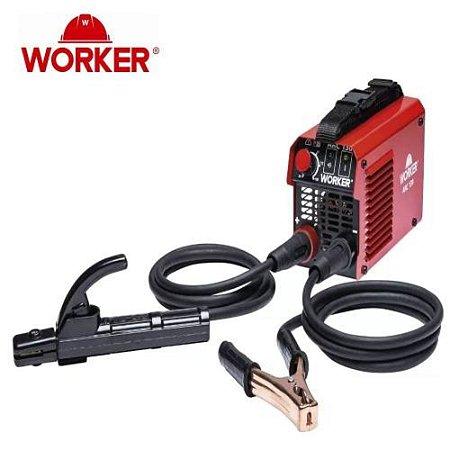 Máquina Inversora De Solda Portátil 130a 127v Worker Arc130