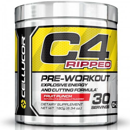 C4 Ripped Pre-Treino (180G) 30 Doses - CELLUCOR