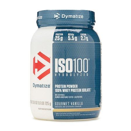 ISO 100 Whey Protein Isolado 100% Hidrolisado (726g) - Dymatize