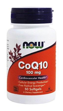 CoQ10 (50softgels) 100mg - Now Foods
