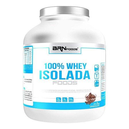 100% Whey Isolada Foods (2kg) - BRN Foods