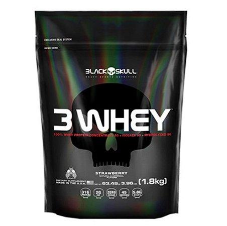 3Whey Refil (1,8kg) - Black Skull