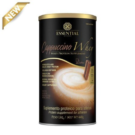 CAPPUCCINO WHEY 448G - ESSENTIAL WHEY