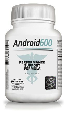 Android 600 ( 60 Cápsulas ) - Power Supplements