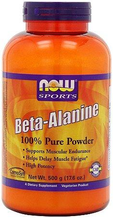 Beta-alanina  (500g) - NOW Foods