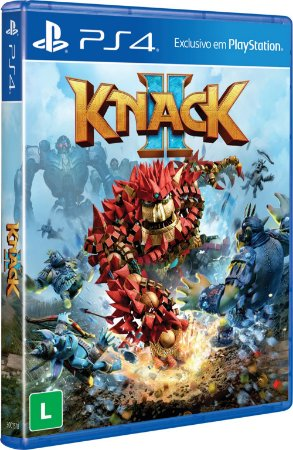 Game - knack 2 - PS4