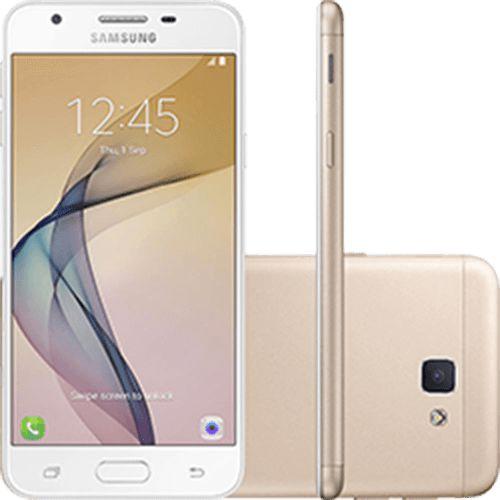 """Samsung Galaxy J5 Prime Dual,Tela 5"""" 32GB Câmera 13MP - Dourado"""