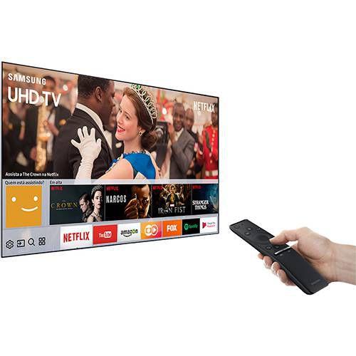 "Smart TV 65"" 4K LED Samsung UHD,3 HDMI, 2 USB - UN65MU6100"