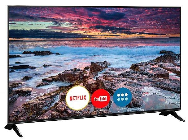 "Smart TV 65"" 4K LED Panasonic Ultra HD, 4 HDMI - TC-65FX600B"