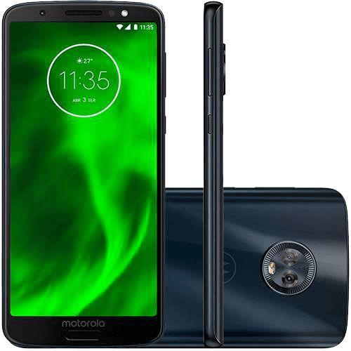 Motorola Moto G6 XT1925 32GB Dual Câmera 12 + 5MP - Índigo