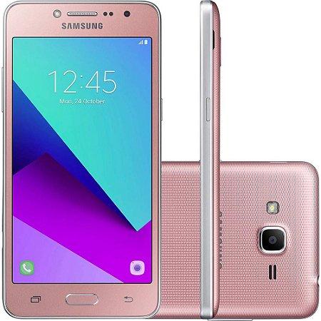 "Samsung Galaxy J2 Prime TV Dual,Tela 5"" 16GB Câmera 5MP - Rosa"