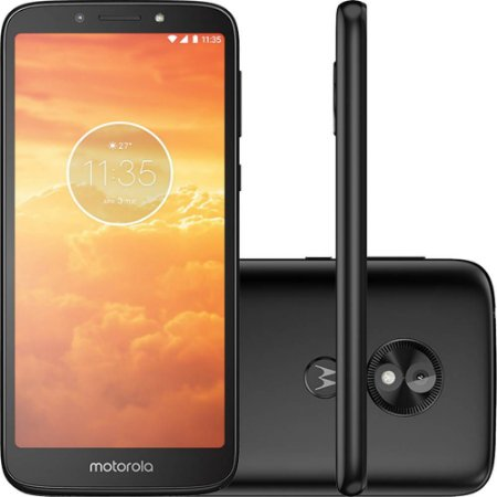 Motorola E5 Play 16GB Dual Chip, Câmera 8MP - Preto
