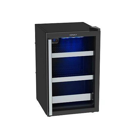 Cervejeira Venax Blue Light 100, 82L, -6°C a 0°C 110V - Preto