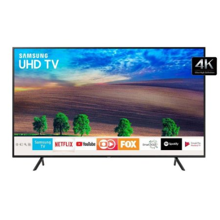 "Smart TV LED 65"" 4K LED Samsung UHD, 3 HDMI 2 USB - UN65NU7100"