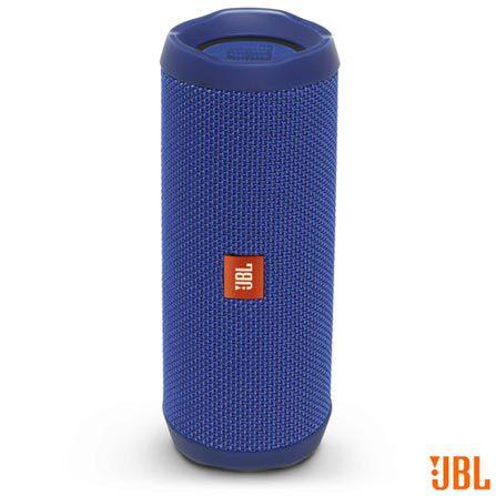 Caixa de Som Bluetooth a prova d'agua JBL FLIP4  - Azul