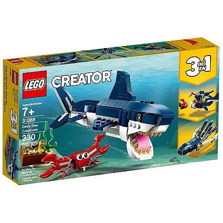Lego Creator - 3 em 1 - Criaturas Aquáticas