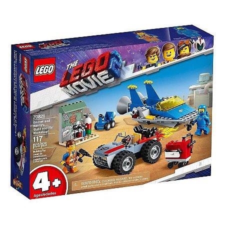 Lego Movie - O Filme 2 - Oficina de Construção e Conserto do Emmet e Benny