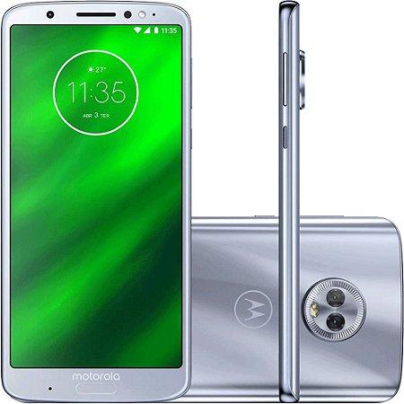 Motorola Moto G6 Plus XT1926 64GB Dual Android Oreo- 8.0 Câmera 12 + 5MP-Azul Topázio