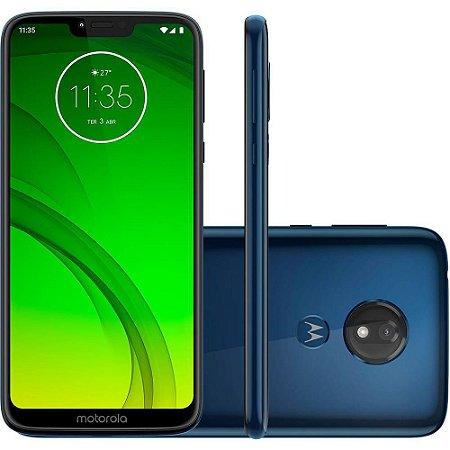 Motorola Moto G7 Power XT1955 32GB Dua, Android Pie - 9.0, 12MP - Azul Navy