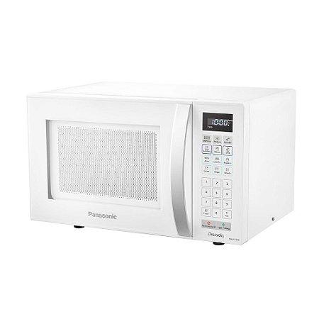 Micro-ondas Panasonic 21L Dia-a-Dia NN-ST25JWRUN, Branco - 110V