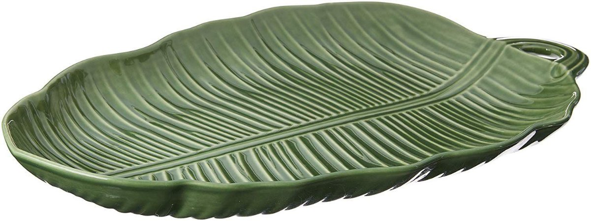 Travessa Leaves Grande Verde