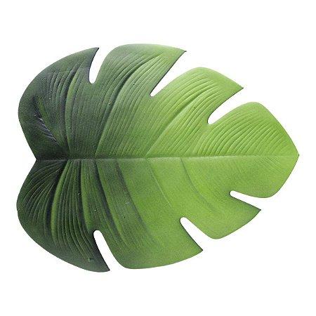 Jogo Americano De Eva Folha Verde 46,5x37cm