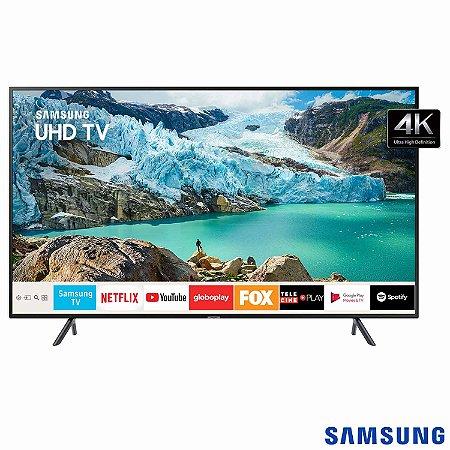"Smart TV 58"" 4K LED Samsung 58"" Livre de Cabos - UN58RU7100"