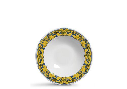 Conjunto de Pratos Fundos com 06 Peças em Cerâmica Limone