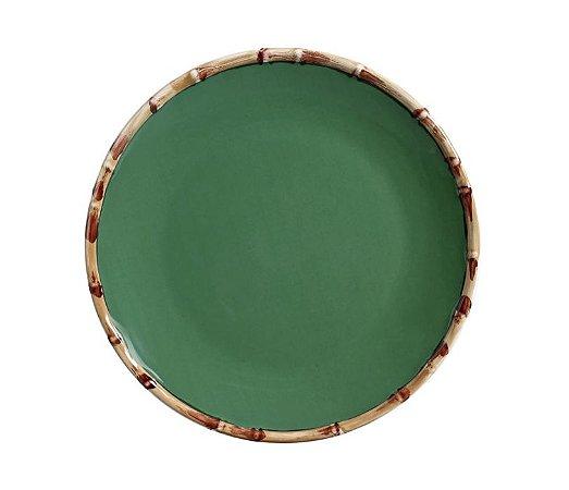 Prato Raso Bambu Verde