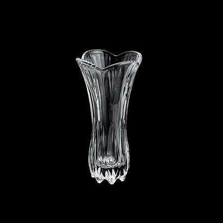 Vaso De Vidro Tulipa 9X19cm
